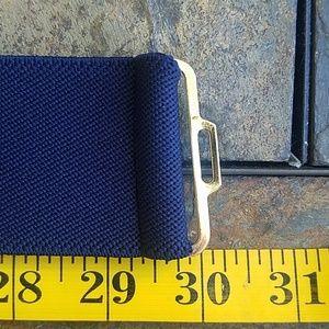 Vintage Accessories - Vintage Gold Knot Stretch Elastic Waist Belt XL
